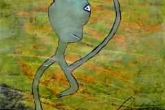 skurril, komische figuren, galerie, Malerei, Mandtmalerei, acryl, art, christiane mandt, artist, figurativ